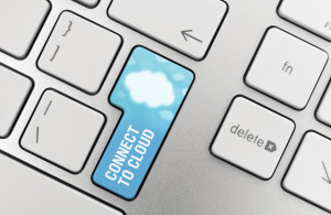 Cloud Computing Connect Button